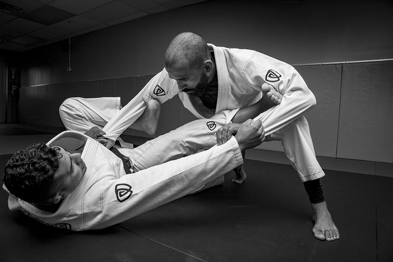 SOLDIER ONE BRAZILIAN JIU-JITSU GI IN ACTION