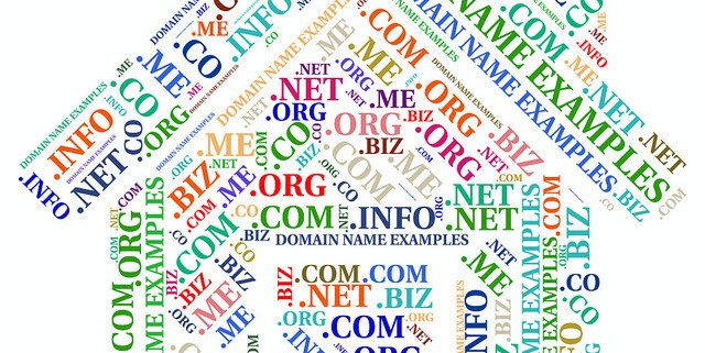 name as a domain name