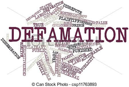 what is internet defamation