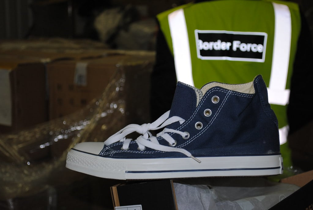 image showing counterfeit goods